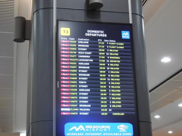 Virgin Australia Delayed Flights - When Chaos Reigns