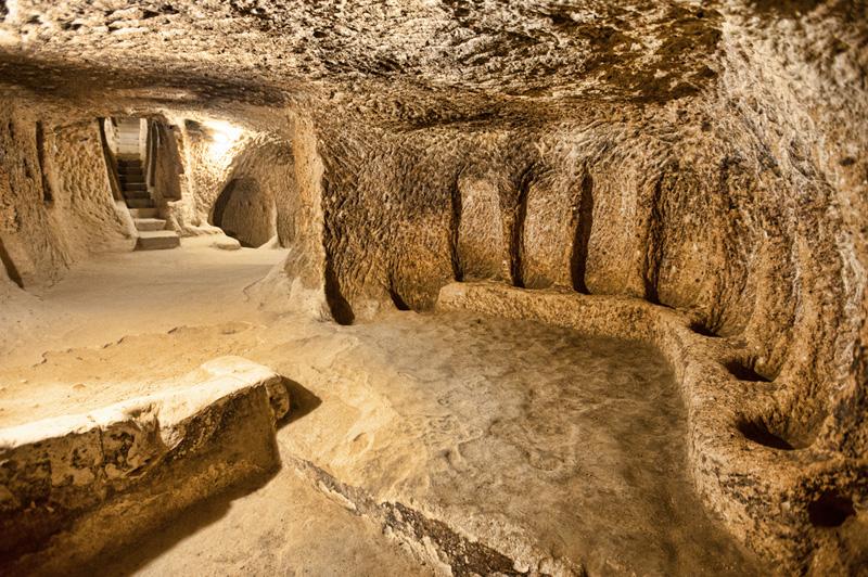 Discovered underground metropolis