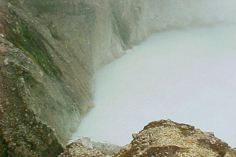 Dominica (second largest boiling lake in the world)