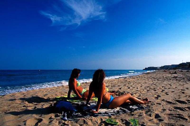 El-Torn-Beach, Tarragona, Spain