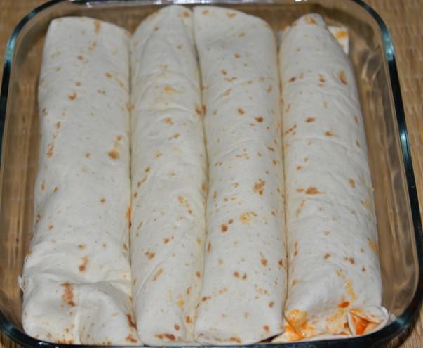 Enchilada Rolled for Baking