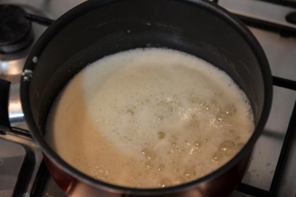 Enchilada Sauce - Oil with Flour