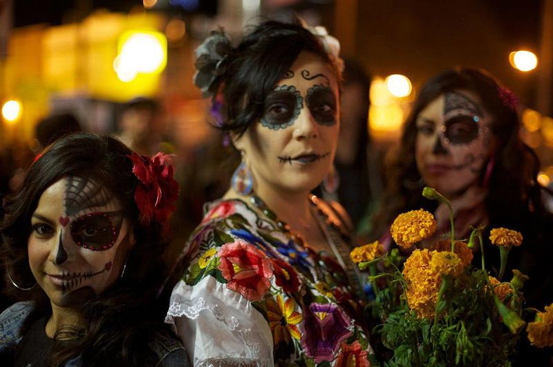 Día de Los Muertos Mexico