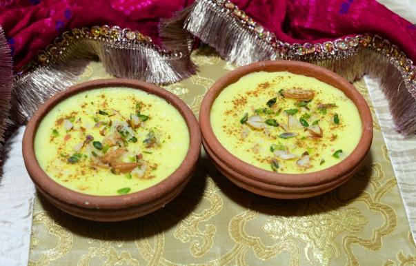 Receta de Ferni iraní y Ingredientes