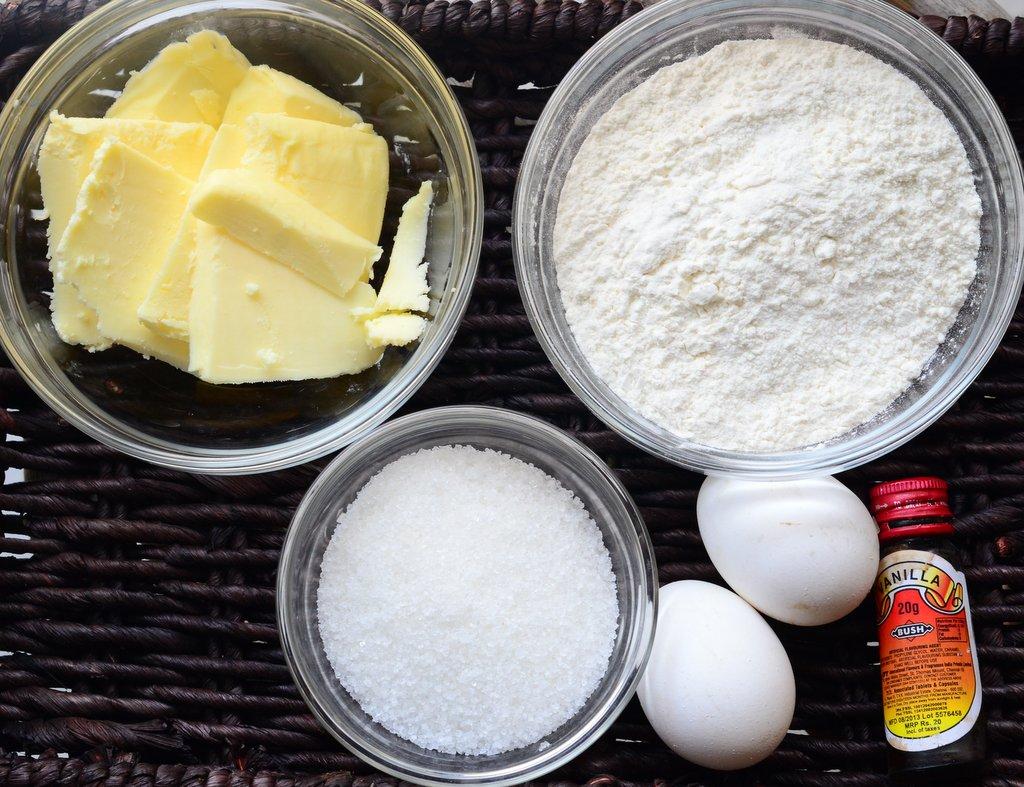 French Madeleine - Key Ingredients