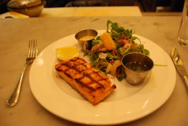 Grilled Atlantic Salmon - A review