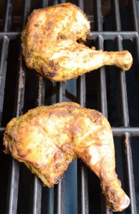 Grilling Jerk Chicken