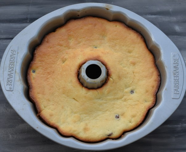 Gugelhupf - Upside Down After Baking