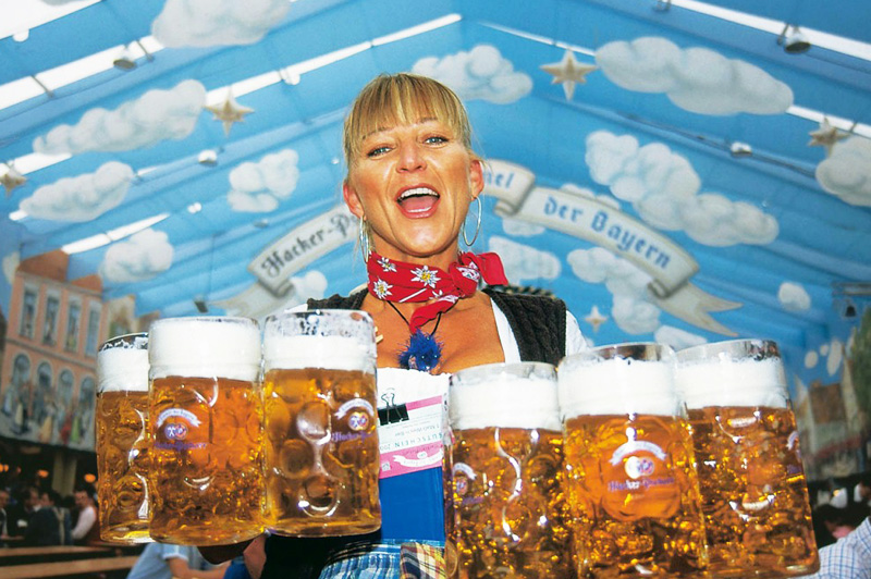 If you're going to be in Hong Kong during mid-October and early November, probably a visit to Marco Polo German Bierfest