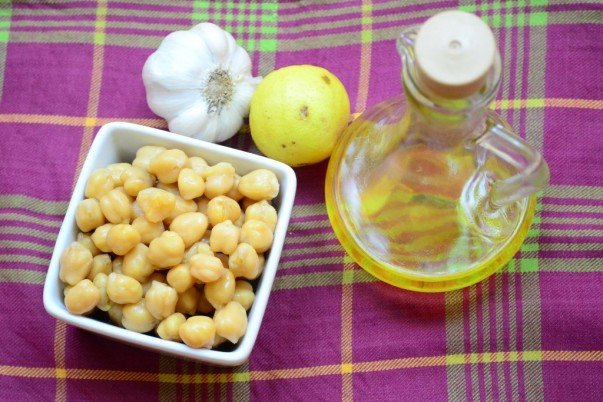 Hummus - Boiled Chickpeas