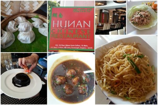 Hunan Chinese Restaurant, Bangalore