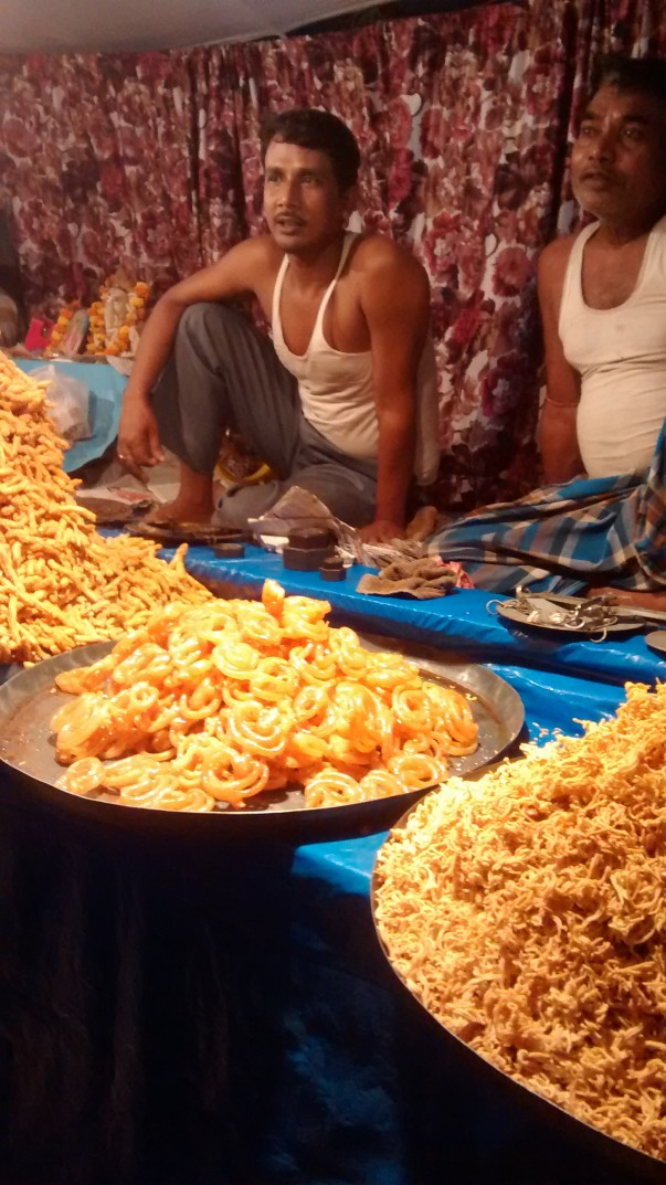 Jalebis- ready for sale