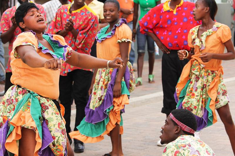 Jamaica (Dancehall street parties in Kingston)