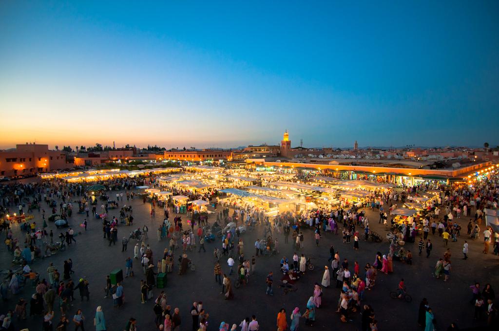 Jemaa el Fnaa, Morocco