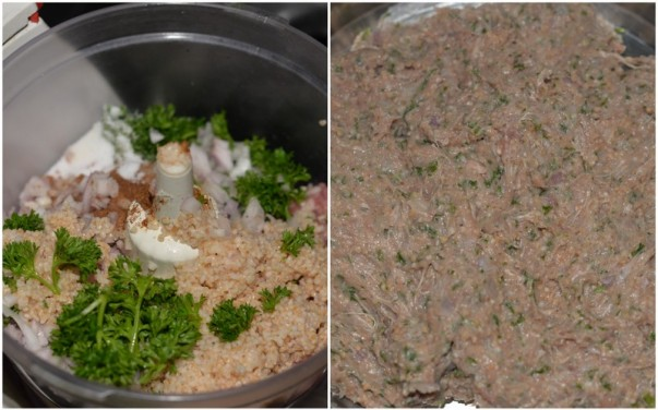 Kibbeh - Smooth Paste For Making the Shell