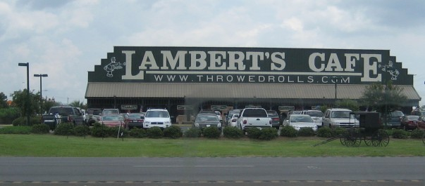 Lambert's Cafe at Foley, Alabama.