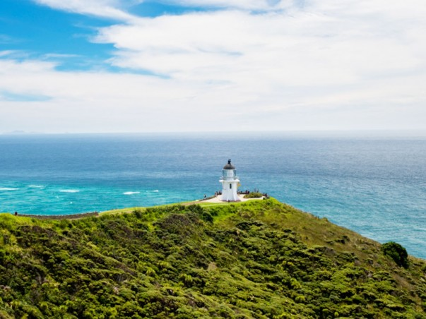 Lighthouse at Cape Reinga, New Zealand