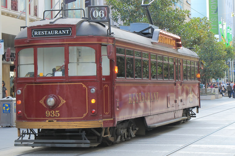 what 39 s so magical about the colonial tramcar restaurant in. Black Bedroom Furniture Sets. Home Design Ideas