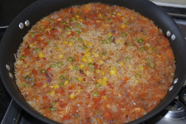 Mexican Rice - Fully cooked