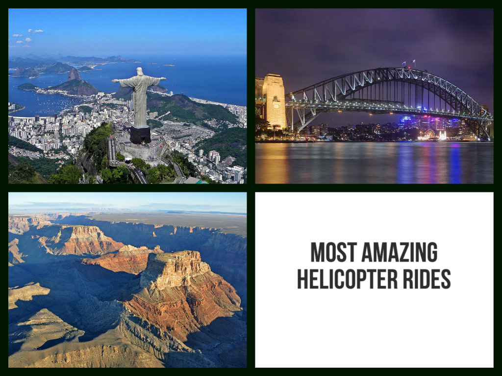 5 Most Amazing Helicopter Rides Around the World
