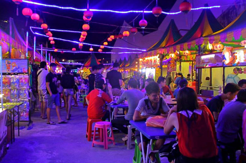 Night Market in Jonker Street