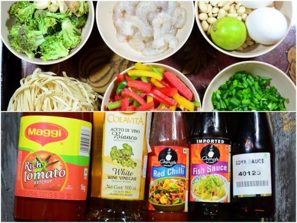 Pad Thai - Key Ingredients