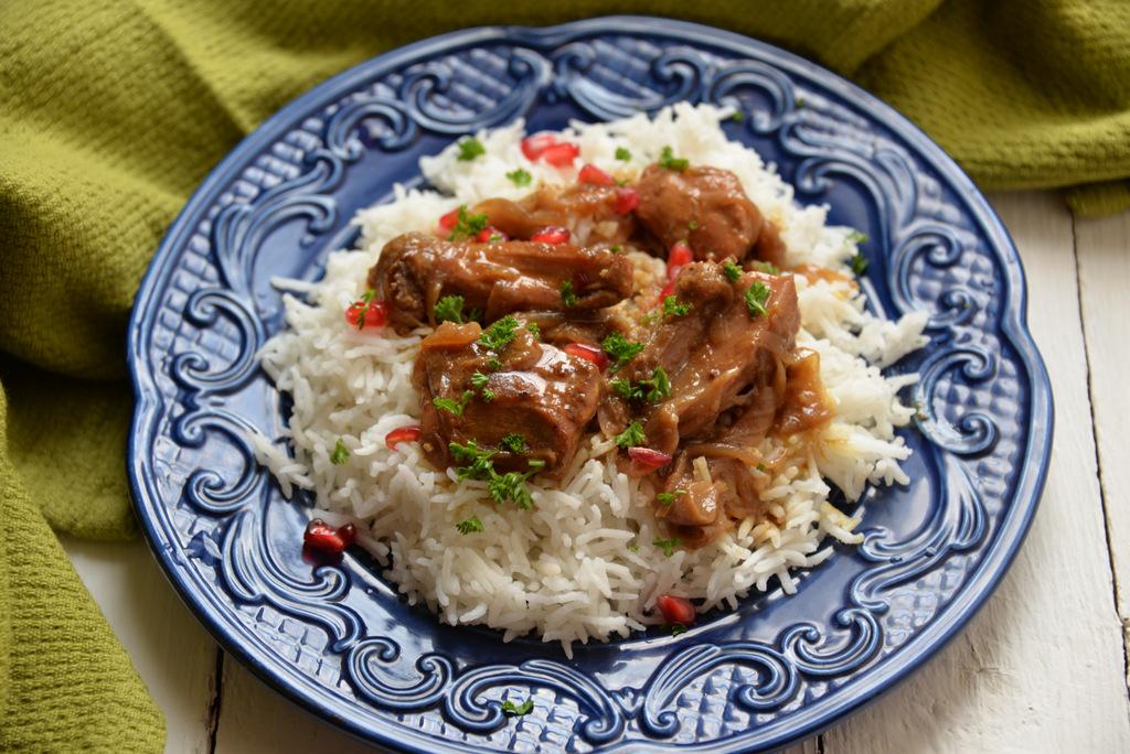 Persian Pomegranate Chicken