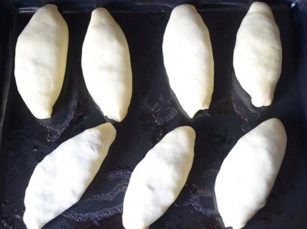Pirozhki Ready For Baking