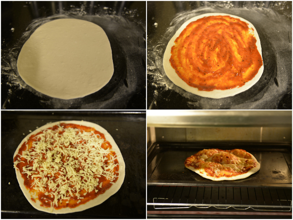 Pizza - Step by step to baking
