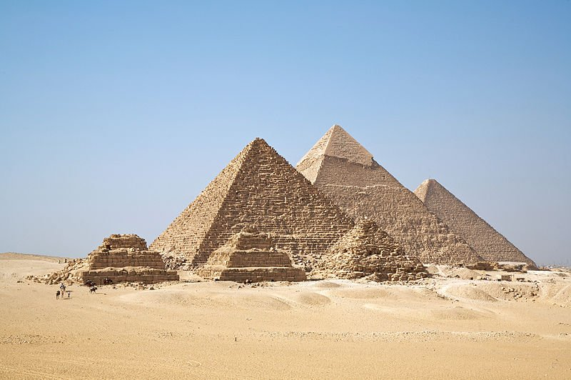 Pyramids of Giza Facts