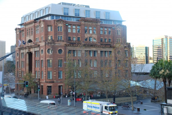 Railway Parcels Building, Sydney - Akin to adding a mule's head on a horse
