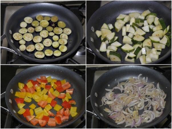 Ratatouille - Frying Vegetables