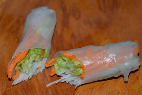 Rice Paper Roll Ready