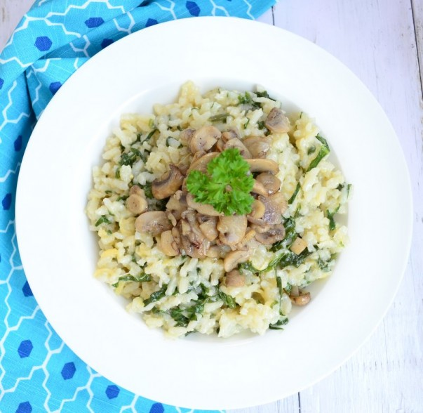 Mushroom Risotto Ready to serve