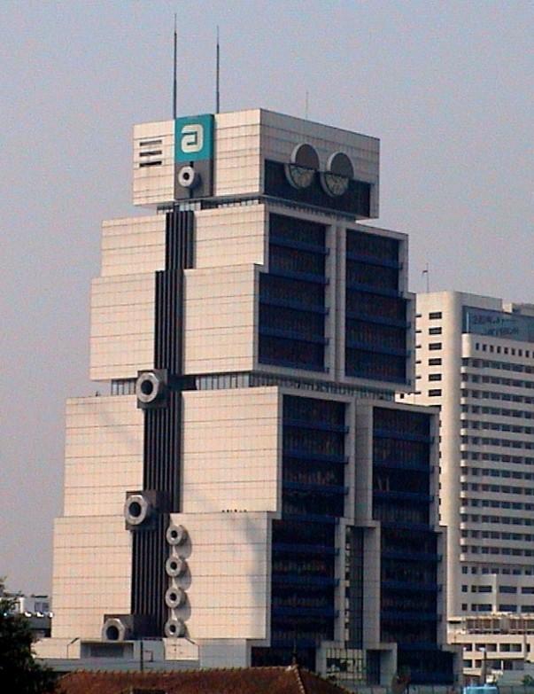 Robot Building  in Bangkok, Thailand
