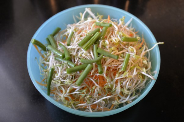 Salad Mixture for Green Papaya Salad