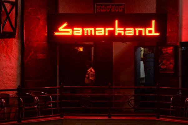 Samarkand Restaurant, Bangalore