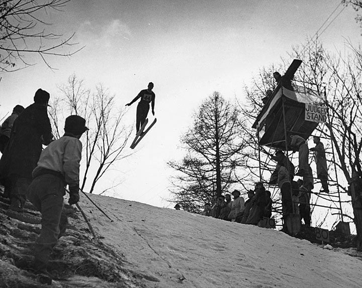 Ski Jumping - Fly as far as you can!