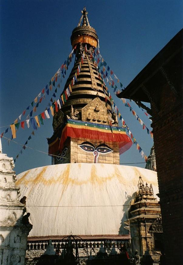 Swayambhunath Stupa in Nepal