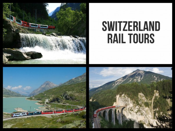 Discover the scenic Switzerland by taking a Rail Tour