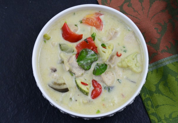 Thai Green Curry - Served