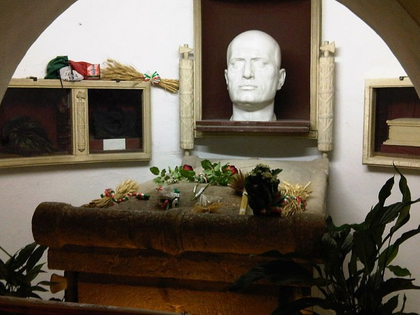 Tomb of Mussolini