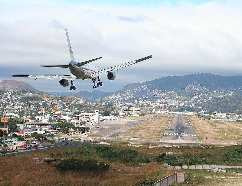Toncontin International Airport, Honduras