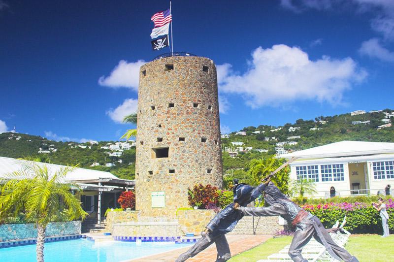 US Virgin Islands - Fort Christiansvaern Blackbeard's Castle