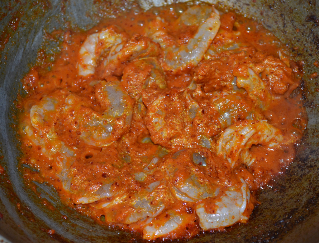 Udang (Prawns) Added To Sambal