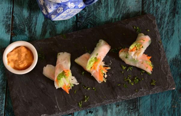 Vietnamese Rice Paper Rolls Recipe