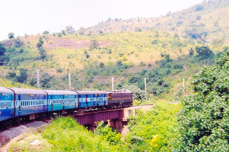 Vizag-to-Araku-Valley (Araku Valley Railway)