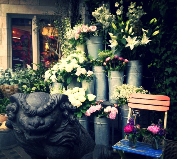 Le Fleuriste Wild at Heart, Londres