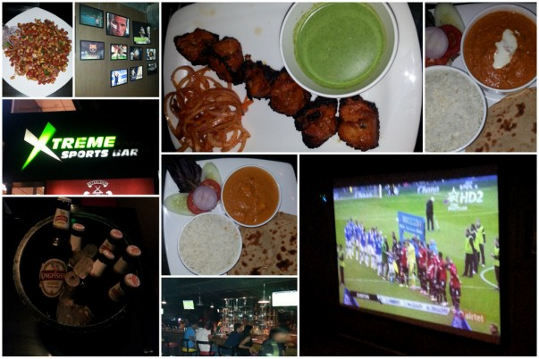 Xtreme Sports Bar, Bangalore – Restaurant Review