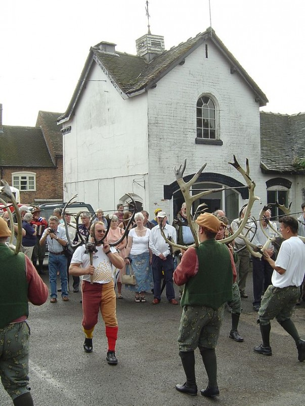 Witness the ancient english folk dance in England